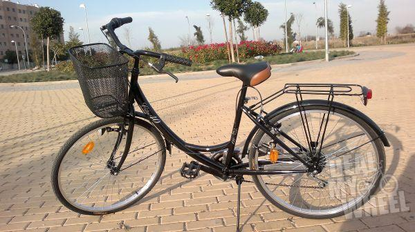 VENDO BICICLETA CITY 40 NEGRA